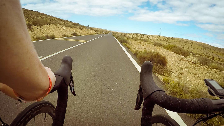Viel Gegendwind auf den Touren auf Fuerteventura