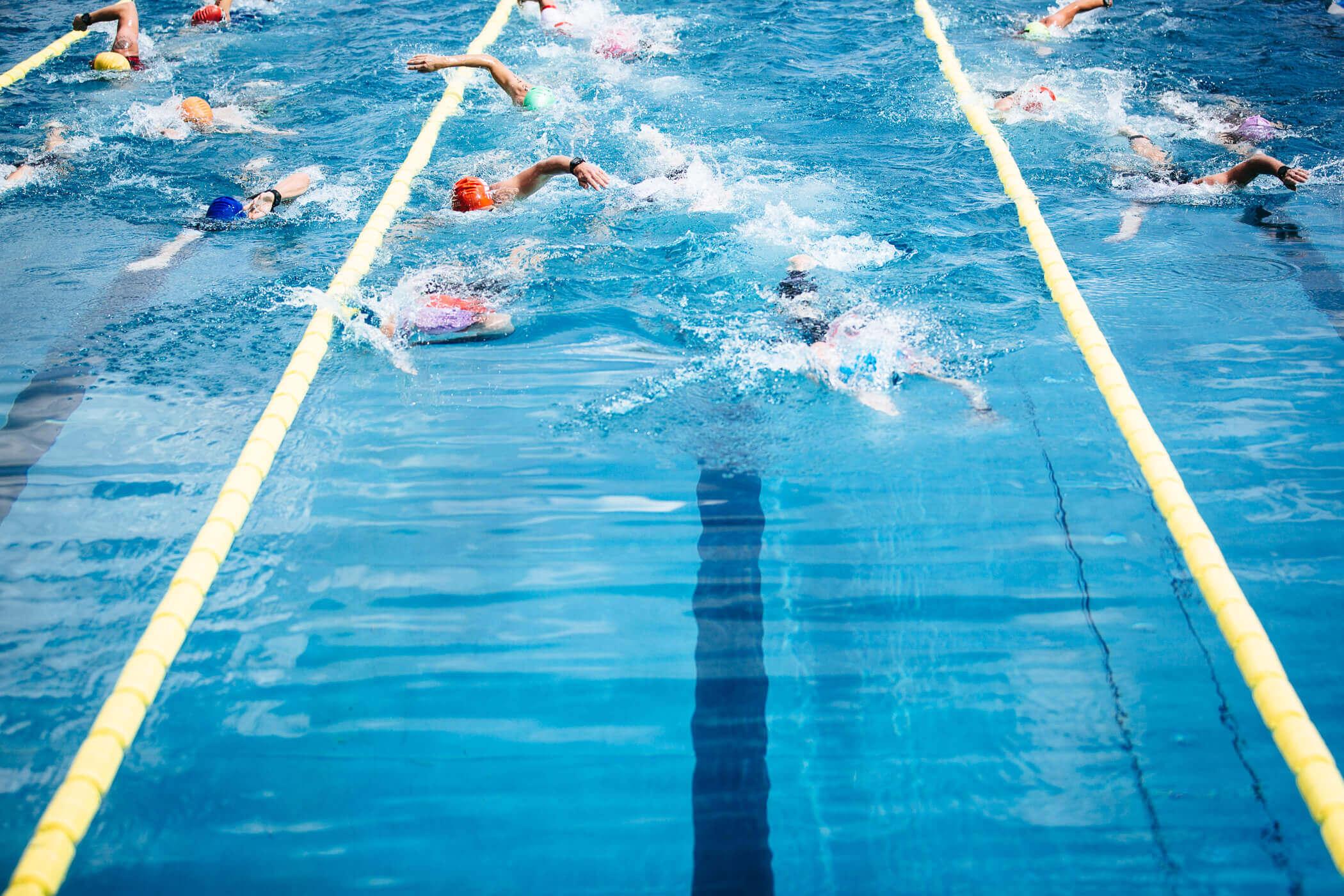 Der erste Triathlon