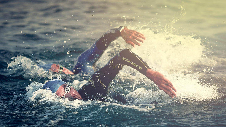 Ironman Italy Schwimm Split mit Niclas Bock