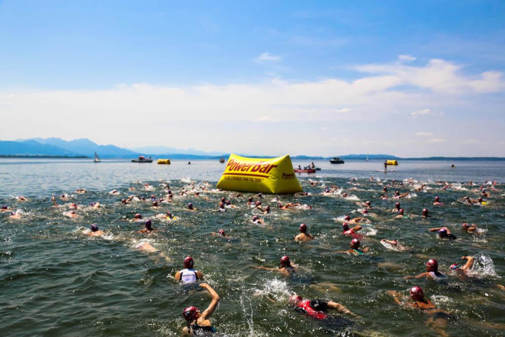 Chiemsee-Triathlon-Schwimmen-Bayerisches-Meer