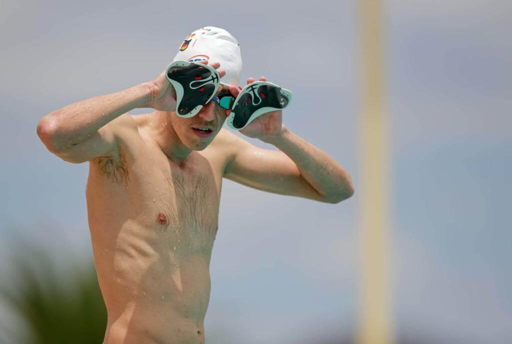 Jonathan Zipf Namibia Training Schwimmen