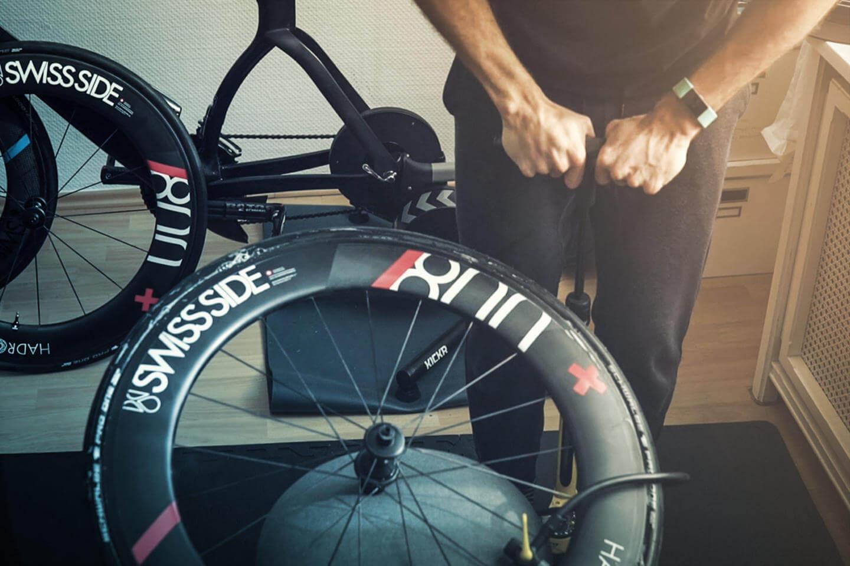 Tubeless Reifen am Rennrad aufpumpen