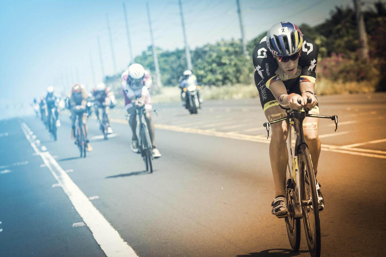 Die Radstrecke des Ironman Hawaii