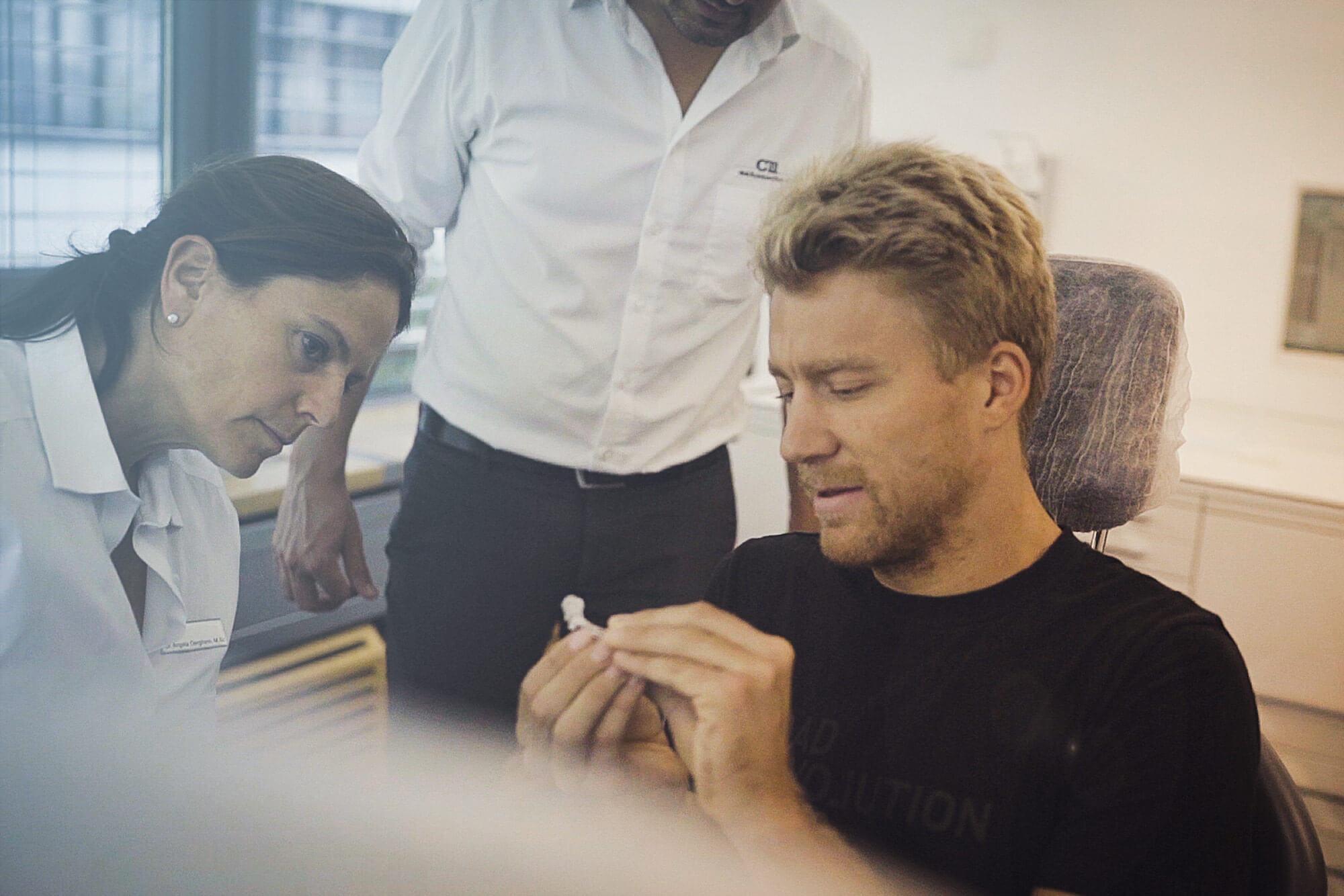 Mit Nils Frommhold beim Zahnarzt