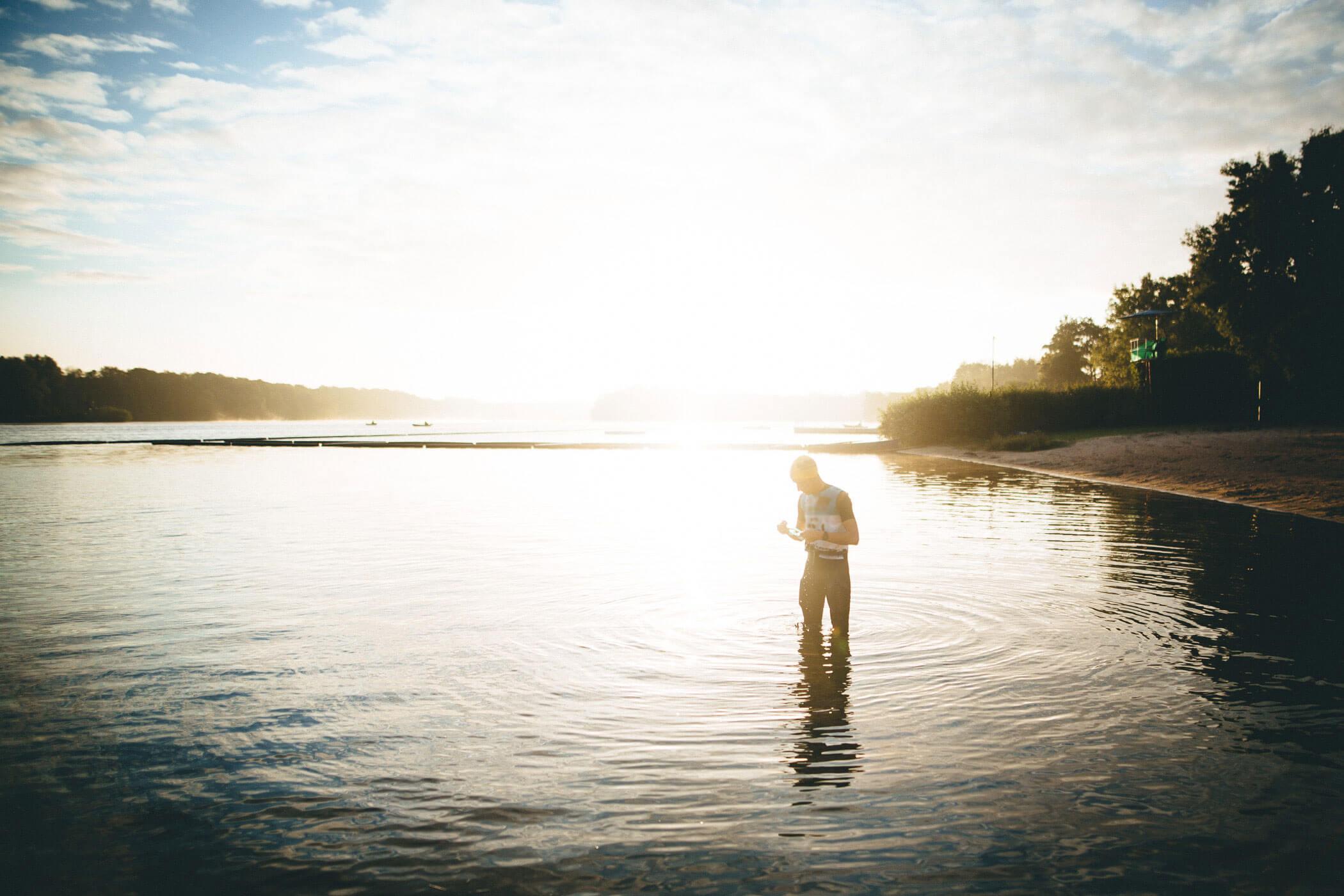 Abenteuer Freiwasser Schwimmen