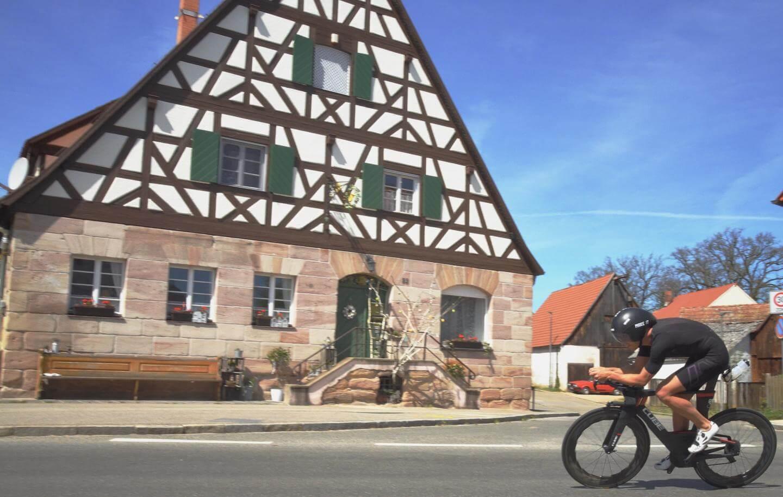 Andi Böcherer Streckencheck Challenge Roth