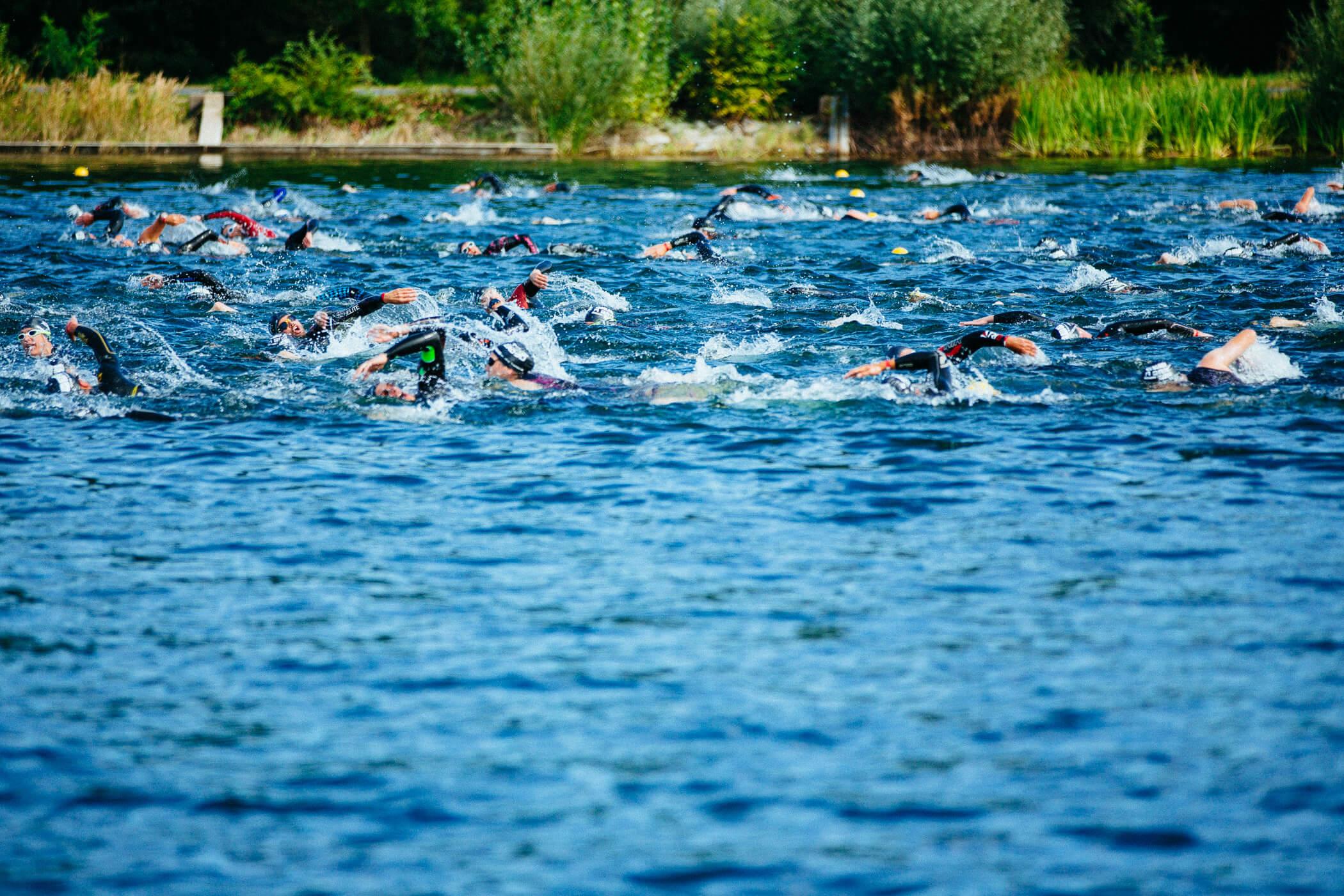 Köln Triathlon Schwimmen