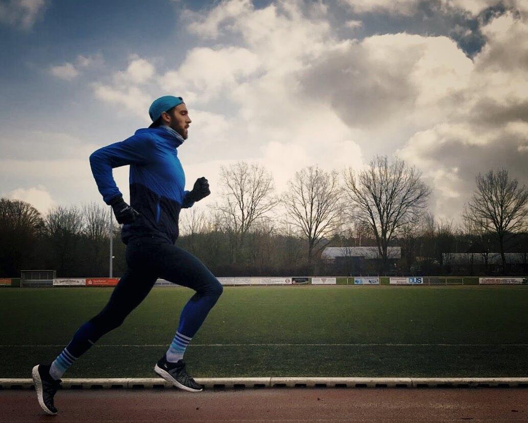 Niclas Bock Laufen Marathon Training