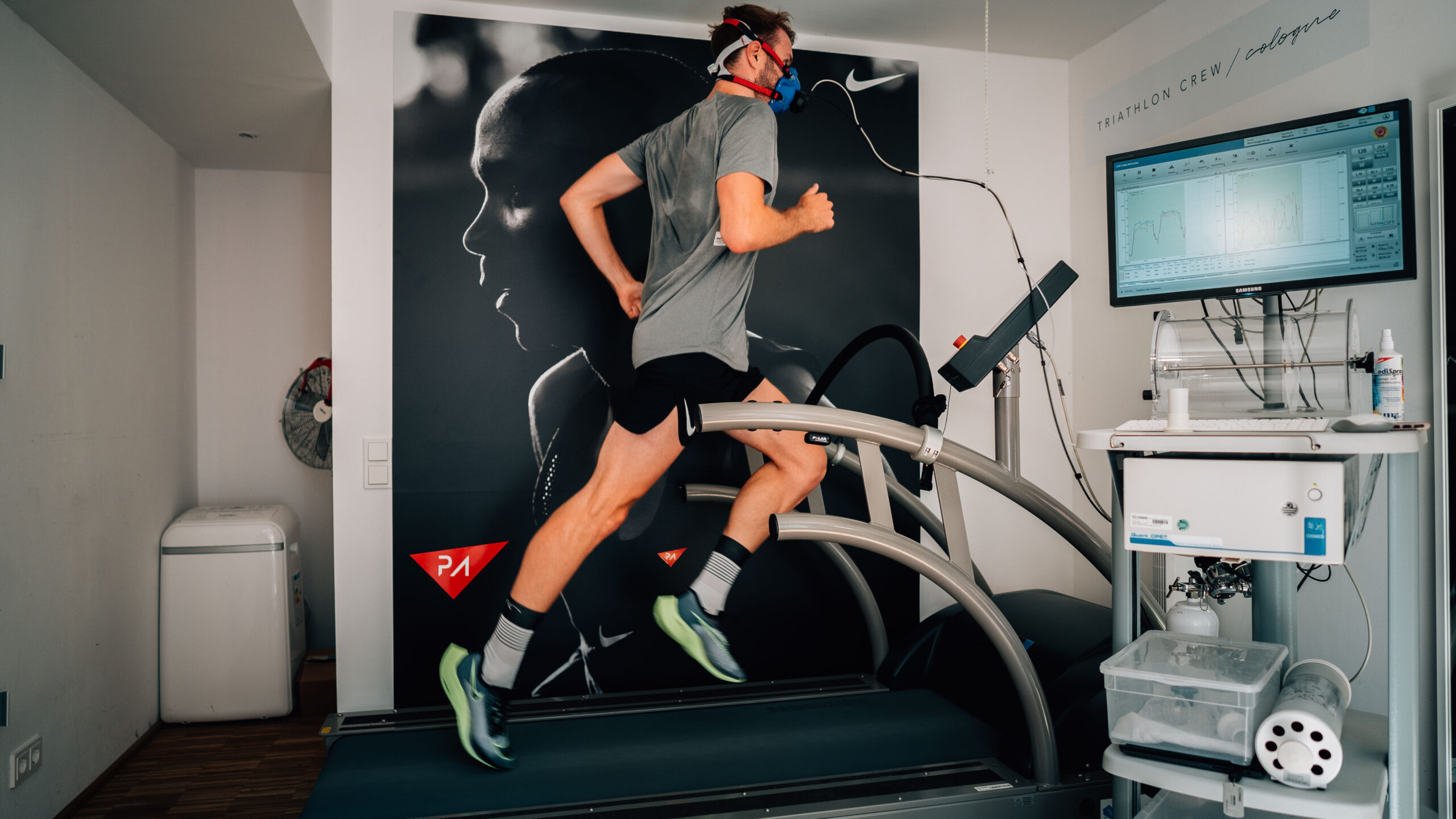 Nike Alphafly Next Percebnt Test Laufband Nick