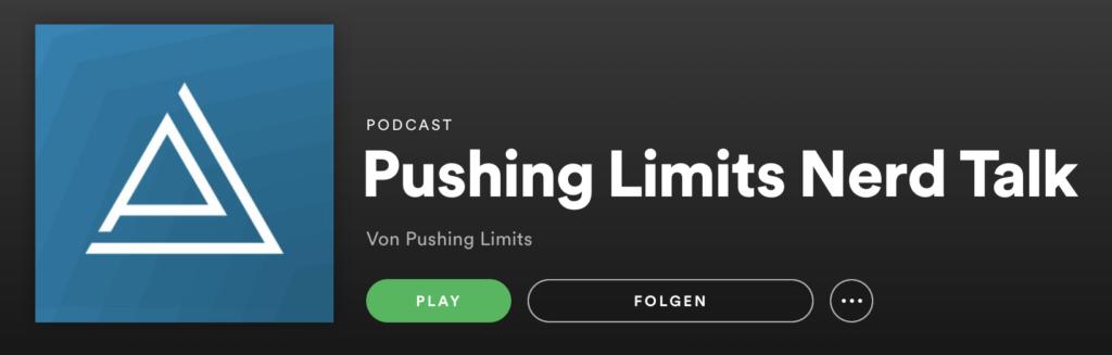 Pushing Limits Podcast Spotify