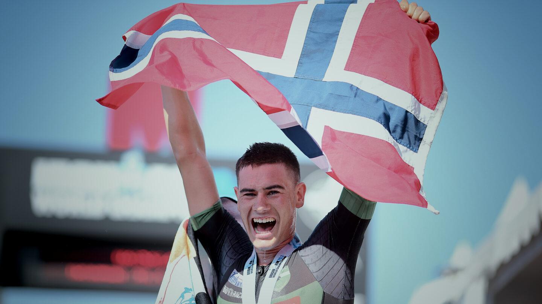 Gustav Iden Pushing Limits Race