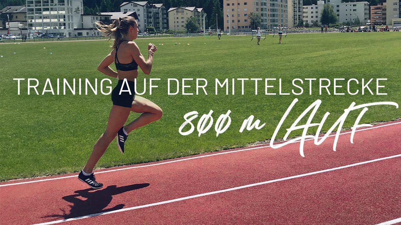 800 Meter Lauf Training