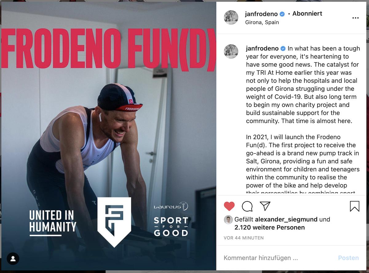 Jan Frodeno Stiftung Frodeno Fun(d)
