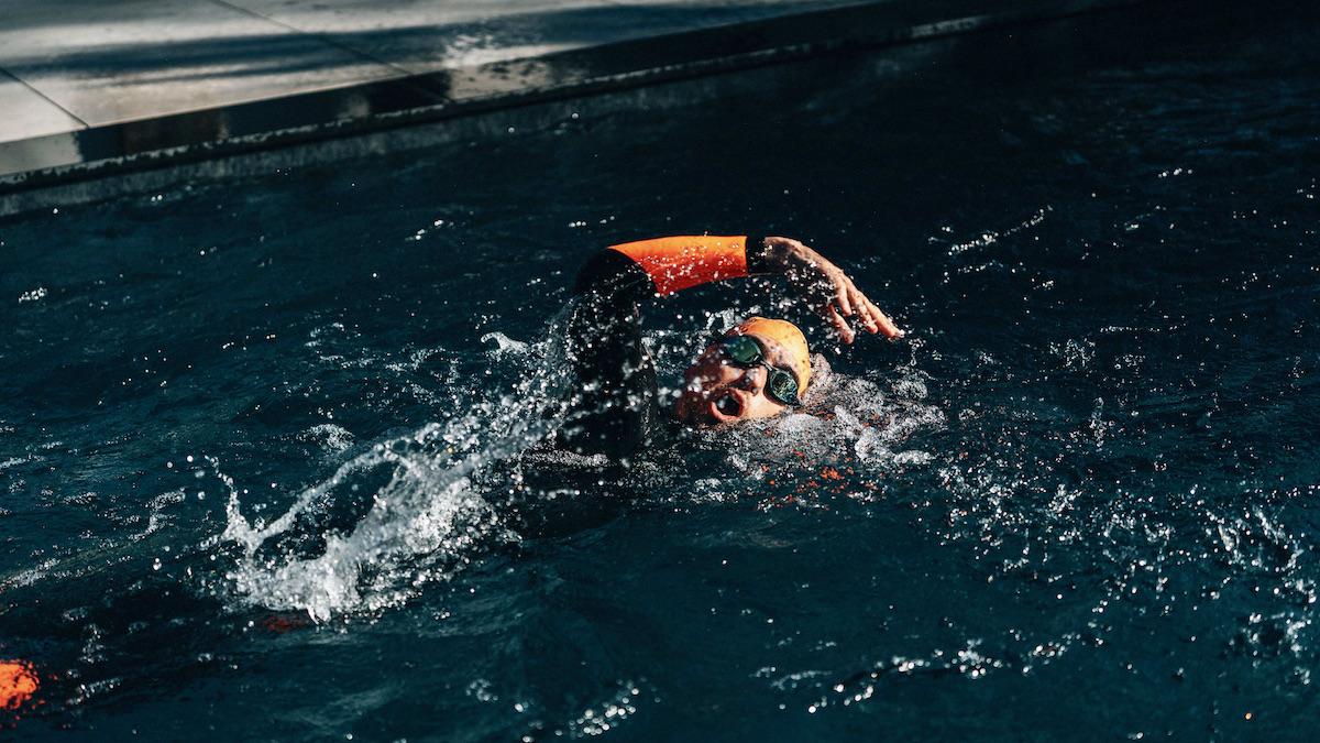 schwimmen profi triathlon Siegesformel