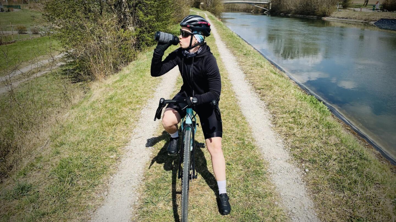 Lena Rookie Report Radfahren glücklich 2