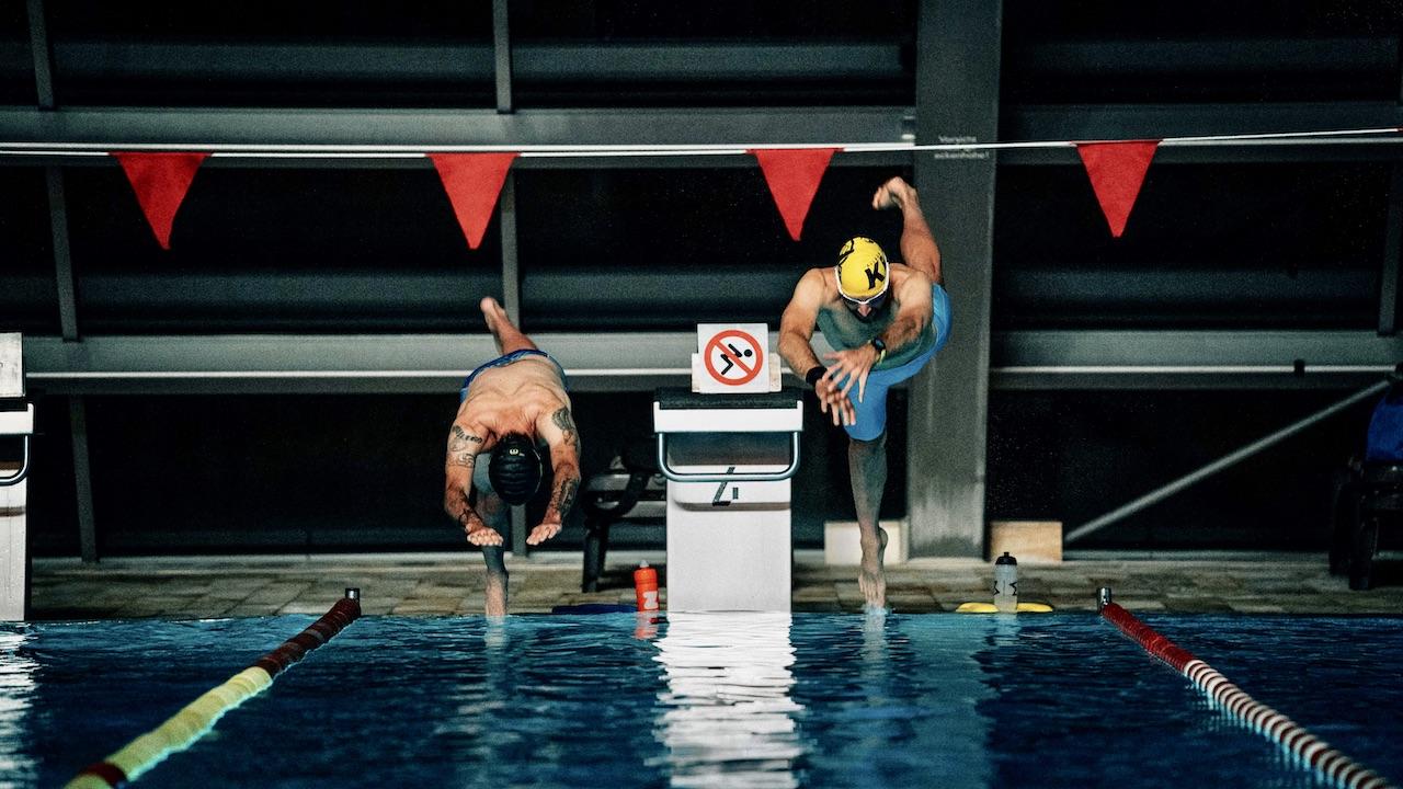 Schwimmtraining Aufbau